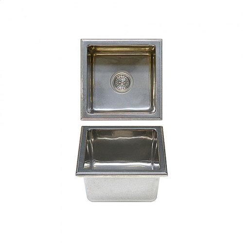 Square Bar Sink - SK515 Silicon Bronze Brushed