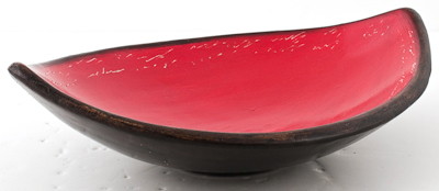 """Small Oval Fruit Bowl / 15"""" L"""