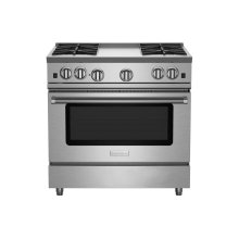 """36"""" RNB Series Range with 12"""" Griddle"""