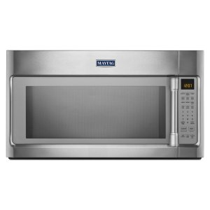Over-the-Range Microwave with WideGlide Tray - 2.1 cu. ft. - STAINLESS STEEL