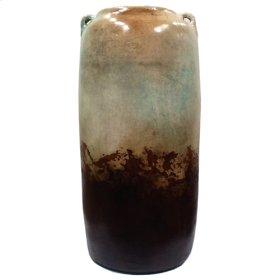 """Water Blue: 25"""" 2 Handled Jar"""