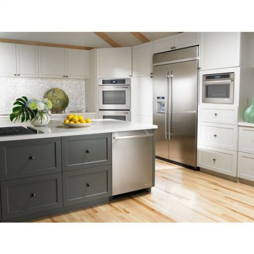 """48"""" Built-In Side-by-Side Refrigerator with Water Dispenser"""