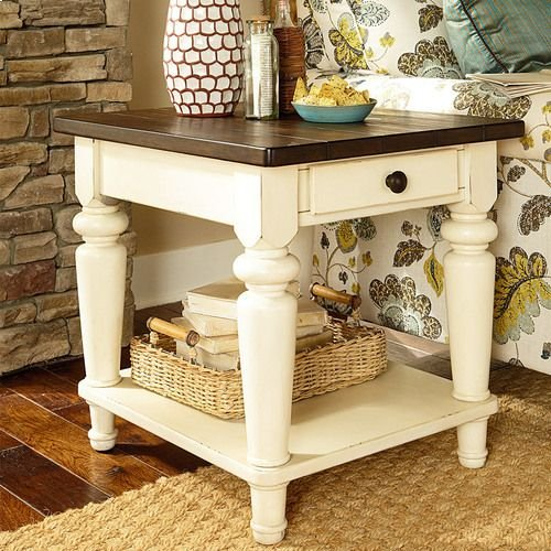 Heartland Rectangular End Table W/ Drawer