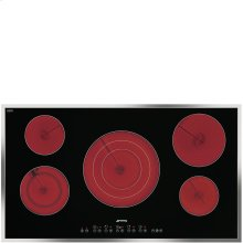 """90CM (approx. 36"""") Ceramic Cooktop Stainless Steel Frame"""