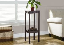 """ACCENT TABLE - 32""""H / CAPPUCCINO"""