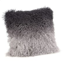 Lamb Fur Pillow Grey Spectrum