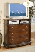 TV Chest with Marble Top Product Image