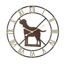 Winchester Dog Wall Clock Product Image