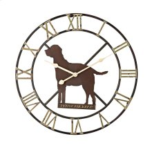 Winchester Dog Wall Clock