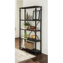 Industrial Dark Grey Bookcase