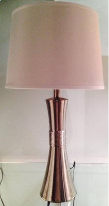 Silver Tapered Lamp