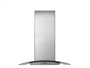 30'' Glass and Stainless Canopy Wall-Mount Hood Product Image
