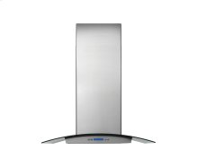30'' Glass and Stainless Canopy Wall-Mount Hood