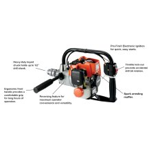 ECHO EDR-210 Keyless Chuck Engine Drill
