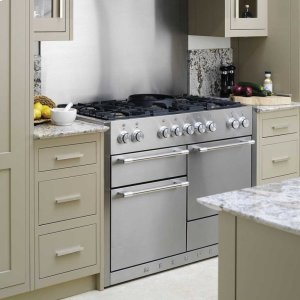 Stainless Steel AGA Mercury Dual Fuel Range  AGA Ranges - STAINLESS STEEL