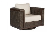 Epicenters Brentwood Outdoor Wicker Swivel Rocking Club Chair