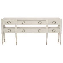 Domaine Blanc Console Table in Dove White (374)