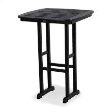 "Black Nautical 31"" Bar Table"
