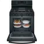"""GE ®30"""" Free-Standing Gas Convection Range"""
