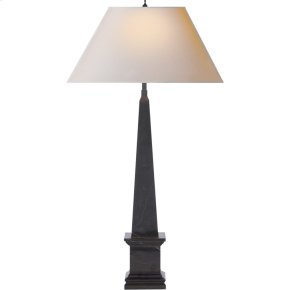 Visual Comfort AH3049BM-NP Alexa Hampton Vivien 28 inch 40 watt Black Marble Decorative Table Lamp Portable Light