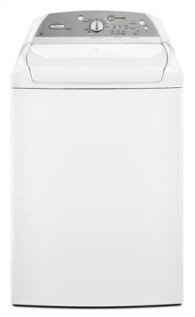 White Whirlpool® ENERGY STAR® Qualified Cabrio®4.7 cu. ft. Capacity HE Top Load Washer