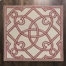 Spotswood Rug-Oxblood/Celadon-10' x 10' Product Image