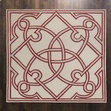Spotswood Rug-Oxblood/Celadon-10' x 10'