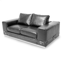 Ciras Leather Loveseat