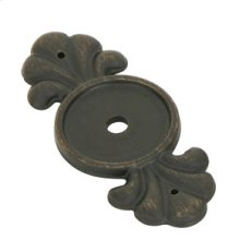 Tuscany Bronze Backplate for Knob
