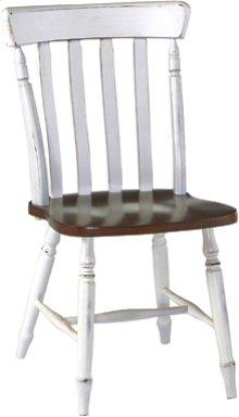Cottage Chair Alabaster & Espresso