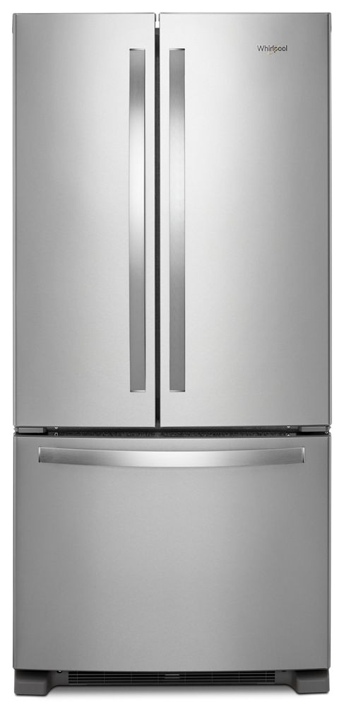 Attrayant WHIRLPOOL 33 Inch Wide French Door Refrigerator   22 Cu. Ft.