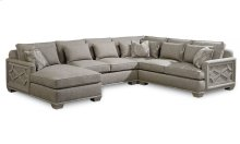 Arch Salvage Jardin Armless Left Arm Facing Chaise/Right Arm Facing Loveseat/Corner