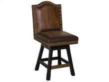 Wild West Swivel Barstool