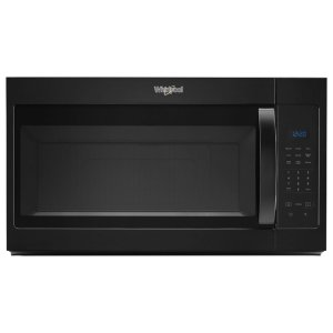 1.7 cu. ft. Microwave Hood Combination with Electronic Touch Controls - BLACK