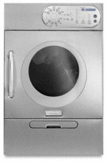 Pro Line® Series 5 Automatic Cycles 4 Manual Cycles Electric Dryer(Stainless Steel)
