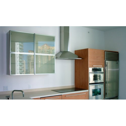 "36"" Synthesis - Wall Hood w/300 cfm Blower, LED controls"