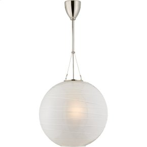 Visual Comfort AH5015PN-FG Alexa Hampton Hailey 1 Light 18 inch Polished Nickel Pendant Ceiling Light