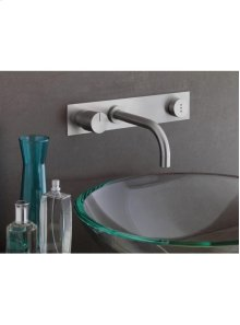 Build-in basin mixer with on-off sensor for 'hands free' - Grey