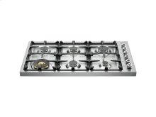36 Drop-in Cooktop 6-burner Stainless