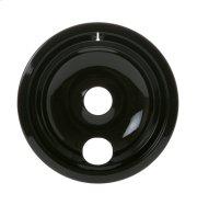 """ELECTRIC RANGE BURNER BOWL - 8"""" BLACK PORCELAIN Product Image"""