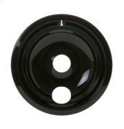 "ELECTRIC RANGE BURNER BOWL - 8"" BLACK PORCELAIN Product Image"