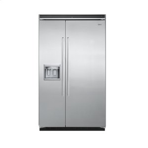 """Stainless Steel 48"""" Quiet Cool(tm) Side-By-Side With Dispenser - Ddsb (48"""" Wide)"""