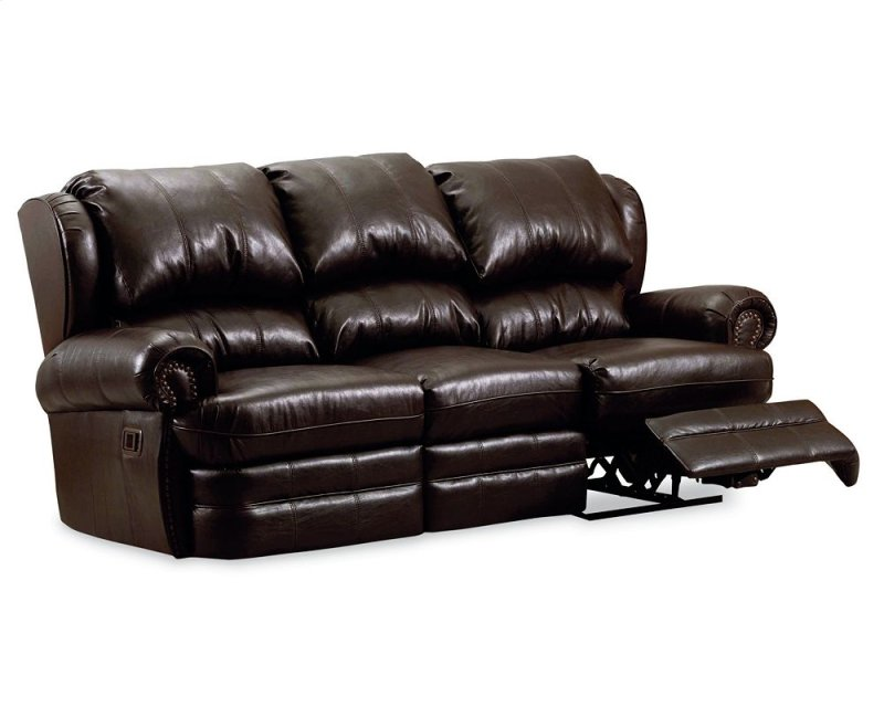 20339 In By Lane Home Furnishings In Hancock Double Reclining Sofa