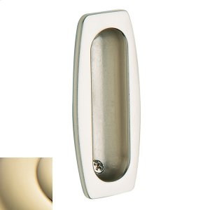 Lifetime Polished Brass Flush Pull Product Image