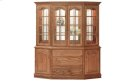 "Brookville Canted Hutch 76"" Buffet & Hutch Product Image"