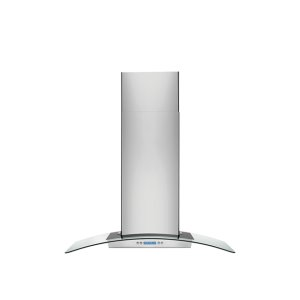 Electrolux36'' Glass and Stainless Canopy Wall-Mount Hood