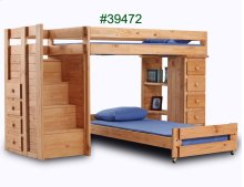 Twin/Twin Staircase Loft Bed