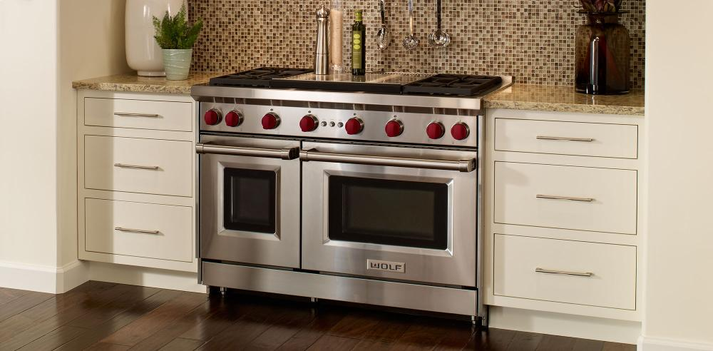 48 Gas Convection Range 8 Burners