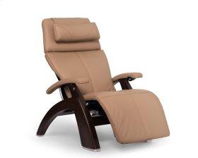 Perfect Chair PC-610 - Sand Top Grain Leather - Dark Walnut