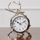 Twig Clock-Nickel Product Image